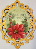 Red Poinsettia Ornament ePacket by Donna Hodson - PDF DOWNLOAD