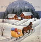 Winter Sleigh Ride ePacket by Donna Hodson - PDF DOWNLOAD