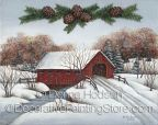 Covered Bridge in Winter ePacket by Donna Hodson - PDF DOWNLOAD