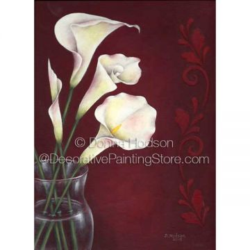 Southern Calla Lilies ePacket by Donna Hodson - PDF DOWNLOAD