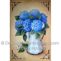 Summer Blue ePacket by Donna Hodson - PDF DOWNLOAD