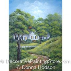 Cottage in the Woods ePattern - Donna Hodson - PDF DOWNLOAD