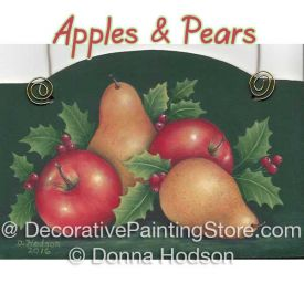 Apples and Pears ePattern - Donna Hodson - PDF DOWNLOAD