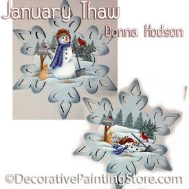 January Thaw ePattern - Donna Hodson - PDF DOWNLOAD