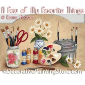 A Few of My Favorite Things ePattern - Donna Hodson - PDF DOWNLOAD