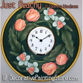 Just Peachy ePattern - Donna Hodson - PDF DOWNLOAD