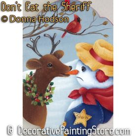Dont Eat the Sheriff ePattern - Donna Hodson - PDF DOWNLOAD