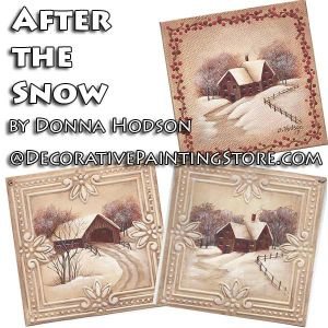 After the Snow ePattern - Donna Hodson - PDF DOWNLOAD