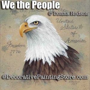 We the People ePattern - Donna Hodson - PDF DOWNLOAD