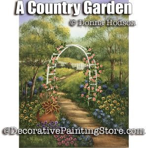 A Country Garden ePattern - Donna Hodson - PDF DOWNLOAD