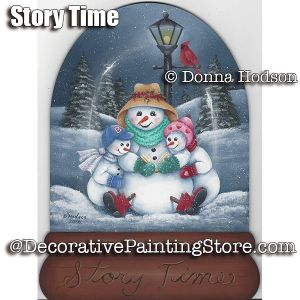 Story Time ePattern - Donna Hodson - PDF DOWNLOAD