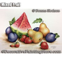 Mixed Fruit ePattern - Donna Hodson - PDF DOWNLOAD