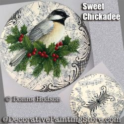 Sweet Chickadee ePattern - Donna Hodson - PDF DOWNLOAD