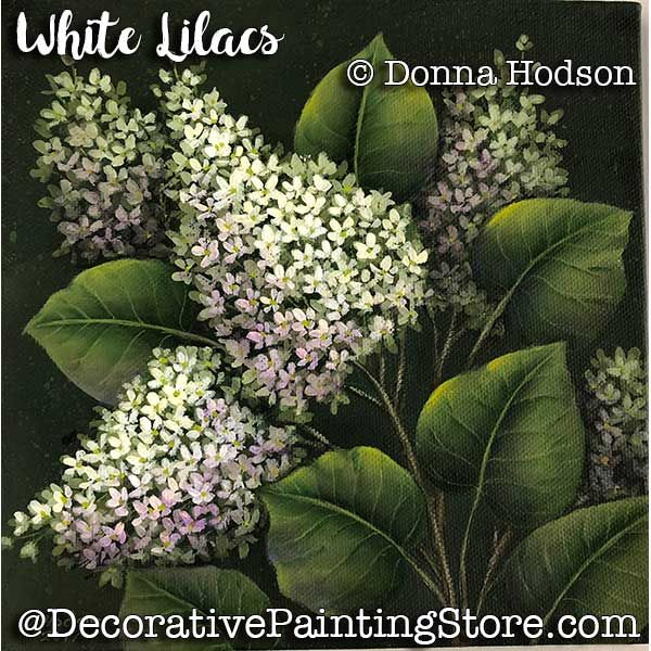 White Lilacs ePattern - Donna Hodson - PDF DOWNLOAD