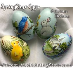 Springtime Eggs ePattern - Donna Hodson - PDF DOWNLOAD