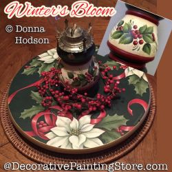 Winters Bloom (Poinsettias) DOWNLOAD - Donna Hodson