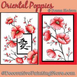 Oriental Poppies DOWNLOAD - Donna Hodson