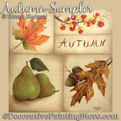 Autumn Sampler DOWNLOAD - Donna Hodson