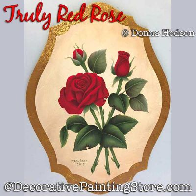Truly Red Rose DOWNLOAD - Donna Hodson