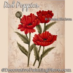 Red Poppies DOWNLOAD - Donna Hodson