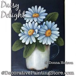 Daisy Delight ePattern - Donna Hodson - PDF DOWNLOAD