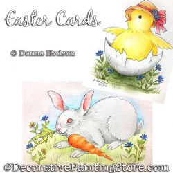 Easter Cards Painting Pattern PDF DOWNLOAD - Donna Hodson