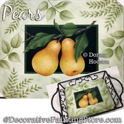 Pears Painting Pattern PDF DOWNLOAD - Donna Hodson