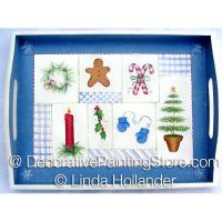 Christmas Sampler Tray ePacket - Linda Hollander - PDF DOWNLOAD