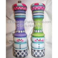 Frosty Salt & Pepper Set ePacket - Linda Hollander - PDF DOWNLOAD