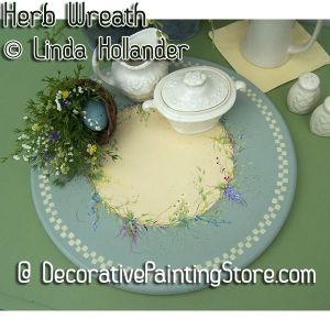 Herb Wreath ePacket - Linda Hollander - PDF DOWNLOAD