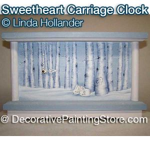 Sweetheart Carriage Clock ePacket - Linda Hollander - PDF DOWNLOAD