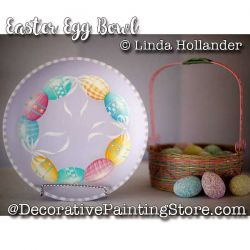 Easter Egg Bowl ePacket - Linda Hollander - PDF DOWNLOAD