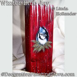 Winter Blue Jay Download - Linda Hollander