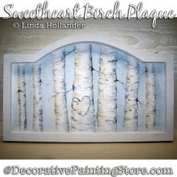 Sweetheart Birch Plaque PDF DOWNLOAD - Linda Hollander
