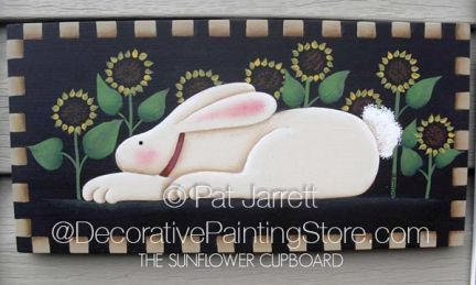 Sun Bunny Pattern - Pat Jarrett - PDF DOWNLOAD