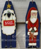 Santas Noel Ornaments - Pat Jarrett - PDF Download