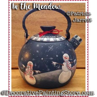 In the Meadow Teapot ePattern - Pat Jarrett - PDF Download