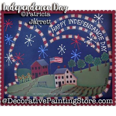 Independence Day ePattern - Pat Jarrett - PDF Download