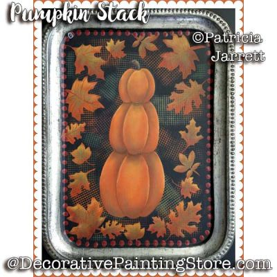 Stacked Pumpkins ePattern - Pat Jarrett - PDF Download