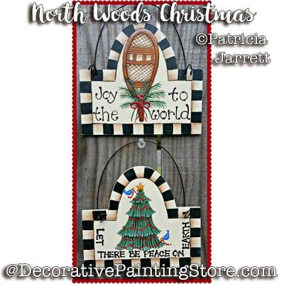 North Woods Christmas ePattern - Pat Jarrett - PDF Download