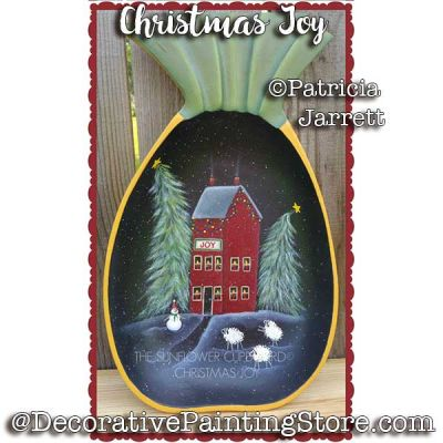Christmas Joy ePattern - Pat Jarrett - PDF Download