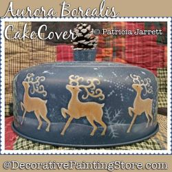 Aurora Borealis Cake Cover Pattern PDF DOWNLOAD - Pat Jarrett