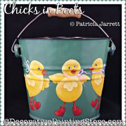 Chicks in Boots Pattern PDF DOWNLOAD - Pat Jarrett