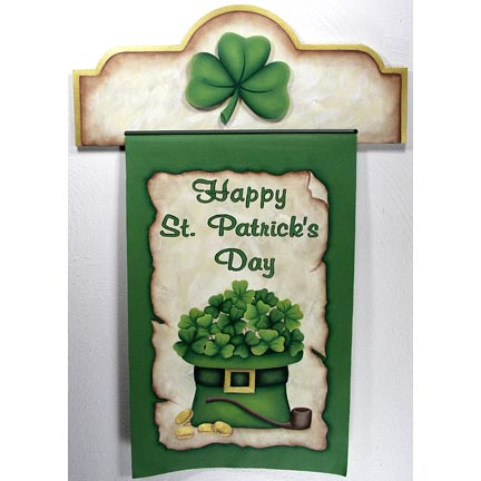 St. Patricks Day Banner - Jeanne Bobish - PDF DOWNLOAD