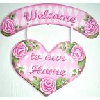 Lovely Roses Welcome Sign DOWNLOAD