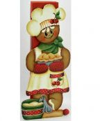 Gingerbread Pie Chef Clothespin Buddy e-Pattern DOWNLOAD