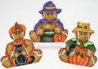 Halloween Gingerbread Trio e-Pattern DOWNLOAD