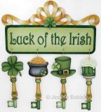Luck of the Irish Keys and Banner Pattern DOWNLOAD
