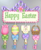 Easter Keys and Banner Pattern DOWNLOAD