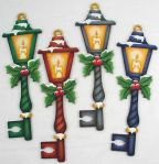 Lantern Keys with Holly Pattern DOWNLOAD